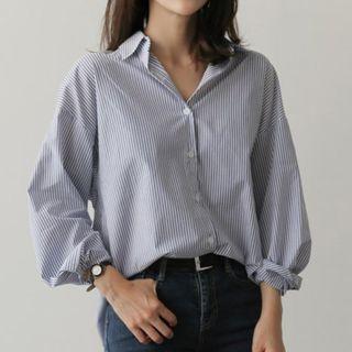 Champi - Striped Long-Sleeve Shirt