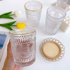 Intimo(インティモ) - Embossed Glass Drinking Cup