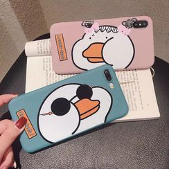 kloudkase - Duck Print Phone Case - iPhone 11 Pro Max / 11 Pro / 11 / SE / XS Max / XS / XR / X / SE 2 / 8 / 8 Plus / 7 / 7 Plus