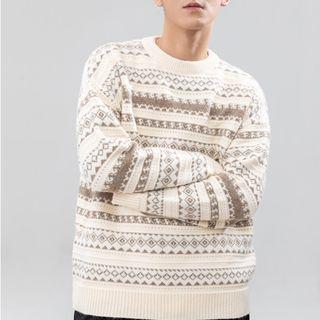 Orizzon - Pattern Jacquard Sweater