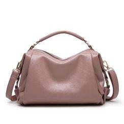 Annmuu - Faux-Leather Satchel