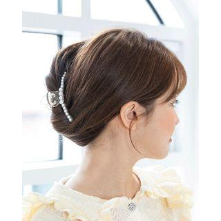 Miss21 Korea - Pearl Transparent Hair Claw