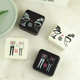 Voon - Cartoon Print Square Contact Lens Case