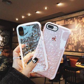 Inteyo - 暗紋手機保護套 - iPhone 5 / 6 / 6 Plus / 7 / 7 Plus / 8 / 8 Plus / XS / XS Max / XR