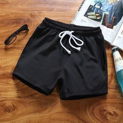 Zucchini - Drawstring Sweat Shorts