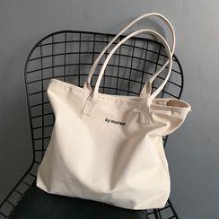Basaran - Canvas Lettering Tote Bag