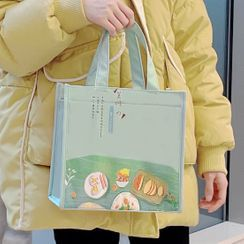 Canvas Love - Print Insulated Lunch Bag