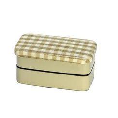 Hakoya - Hakoya Nunobari 2 Layers Lunch Box S Hoccori Beige