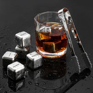 Cheemee - Stainless Steel Chilling Stone / Reusable Ice Cube