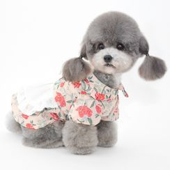 Pettrip - Floral Print Pet Dress