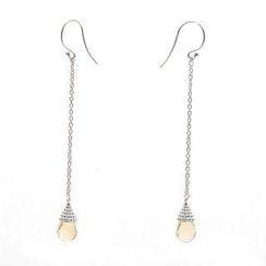 Bellini - Citrine Dew Drop Earrings