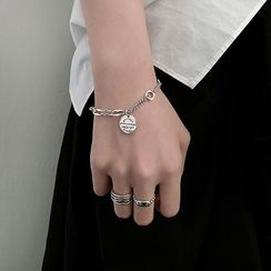 Assisi - 925 Sterling Silver Tag Bracelet