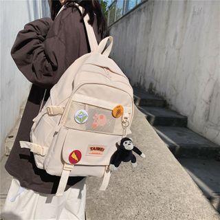 Gokk(ゴック) - Mesh Pocket Zip Backpack