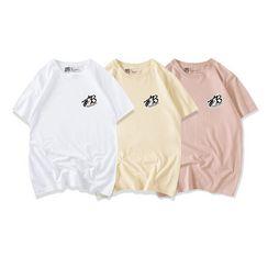 JECKO - Printed Short-Sleeve T-Shirt