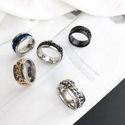 Mimishi - Couple Matching Movable Ring
