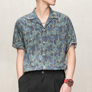 Orizzon - Floral Short-Sleeve Shirt