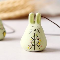 Cancion - Ceramic Rabbit Wind Chime