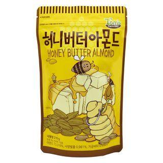 Tom's Farm - Dry Roasted Honey Butter Almond 210g