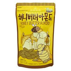 Tom's Farm - Dry Roasted Honey Butter Almond 210g