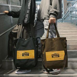 Carryme(キャリーミー) - Lettering Lightweight Tote Bag