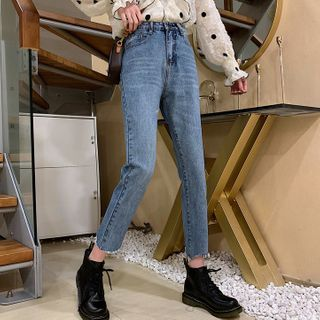 Dute - Washed Skinny Jeans
