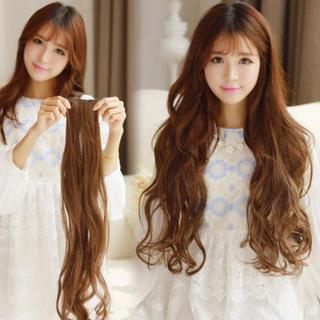 Pin Show - Clip-On Hair Extension - Wavy