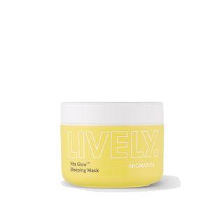 AROMATICA - Lively Vita Glow Sleeping Mask 100g