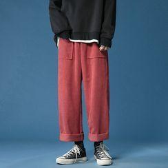 Kimeya - Wide Leg Corduroy Pants