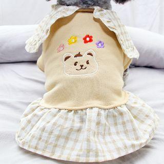 Salonga - Bear Print Pet Dress