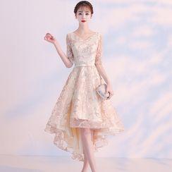 LEFFA - 蕾丝礼服裙
