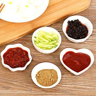 Porcini - Ceramic Sauce Dish (various designs)