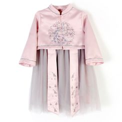 Caleah  - Kids Hanfu Long-Sleeve Dress