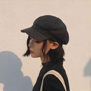 YYG - Tweed Newsboy Cap