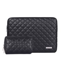 Arktiscun - Set: Quilted Laptop Sleeve + Pouch