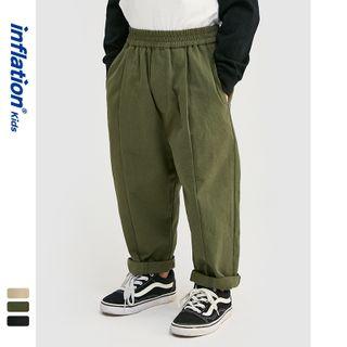 Wolandorf - 男女童日系简约工装裤