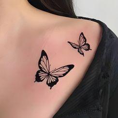 METZ - Butterfly Waterproof Temporary Tattoo