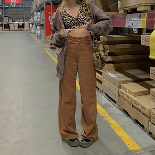 Honet - Wide-Leg Corduroy Pants