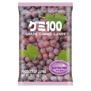 Kasugai - Purple Grape Gummy (individually wrapped) 107g
