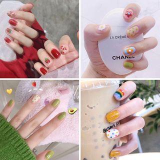Baburu - Printed Nail Art Stickers