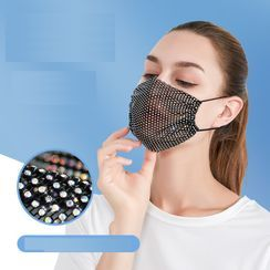 Homy Bazaar - Sequin Cotton Mask Cover