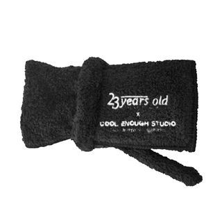 23 years old - 23years old X Cool Enough Studio The Towel Black