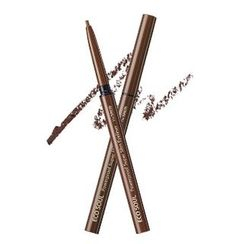 The Saem - Eco Soul Powerproof Super Slim Eyeliner, eyeliner ultra fin (couleur BR03 Teddy Brown)