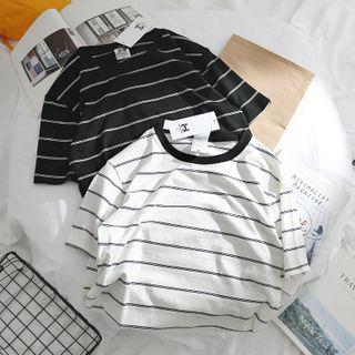 OSIGRANDI - Striped Short-Sleeve T-Shirt