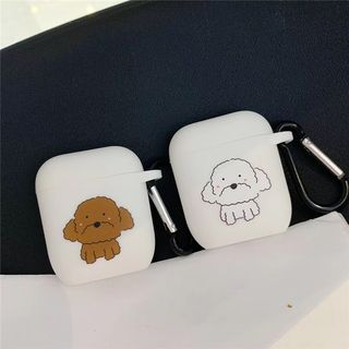 Phone in the Shell - Dog Printed AirPods Earphone Case Cover