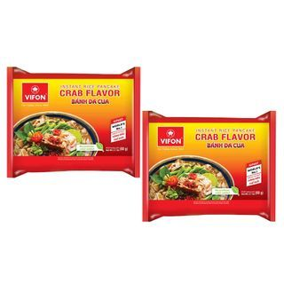 Grainee Foods - VIFON Vietnamese Rice Noodles Crab Flavor (2 packs)