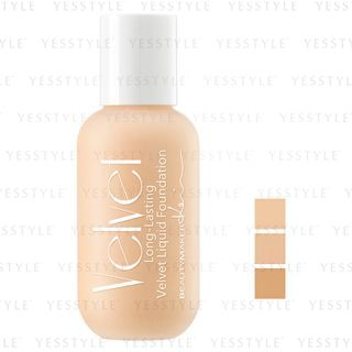 BeautyMaker - Long Lasting Velvet Liquid Foundation 30ml - 3 Types