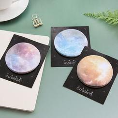 Cute Essentials - Notes adhésives lune/planète (motifs assortis)