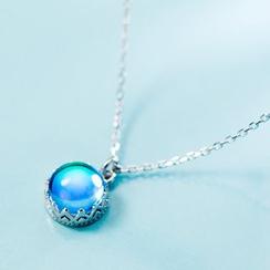 A'ROCH - 925純銀飾珠吊墜項鏈