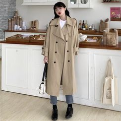 Mikiko - Double-Breasted Trench Coat