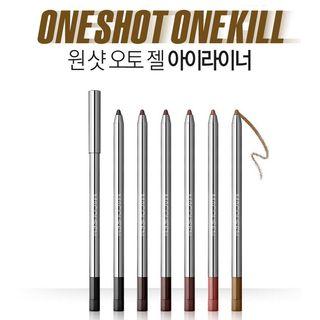 MACQUEEN - One Shot Auto Gel Eyeliner 1pc